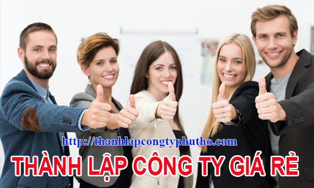 Thành lập công ty tại Thanh Sơn