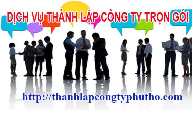 Thành lập công ty tại Phú Thọ