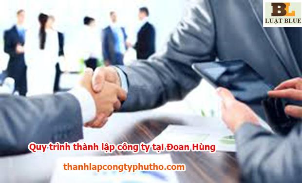 Quy trình thành lập công ty tại Đoan Hùng