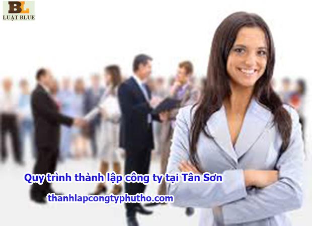 Quy trình thành lập công ty tại Tân Sơn
