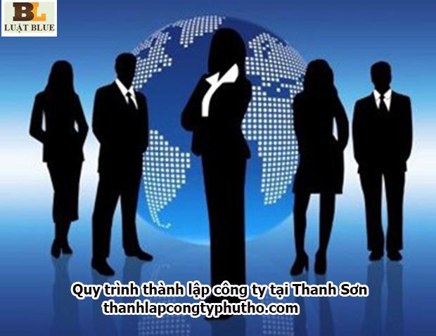 Quy trình thành lập công ty tại Thanh Sơn