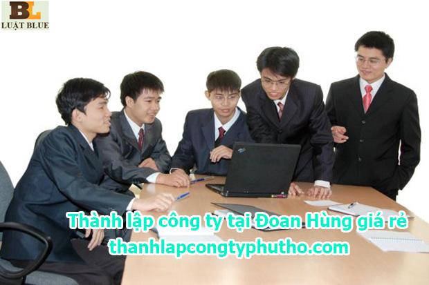 thành lập công ty tại Đoan Hùng