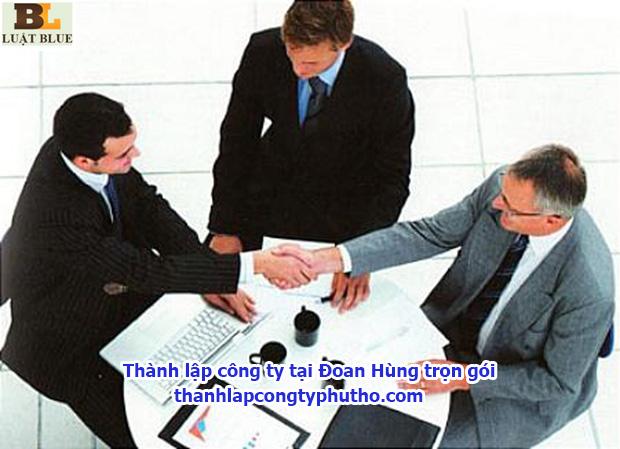 thành lập công ty tại Đoan Hùng trọn gói