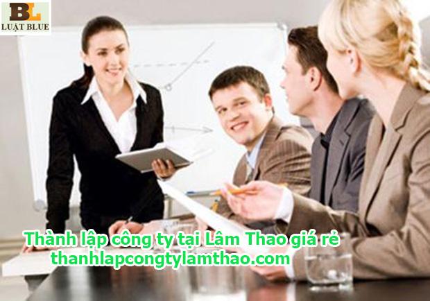 Thành lập công ty tại Lâm Thao