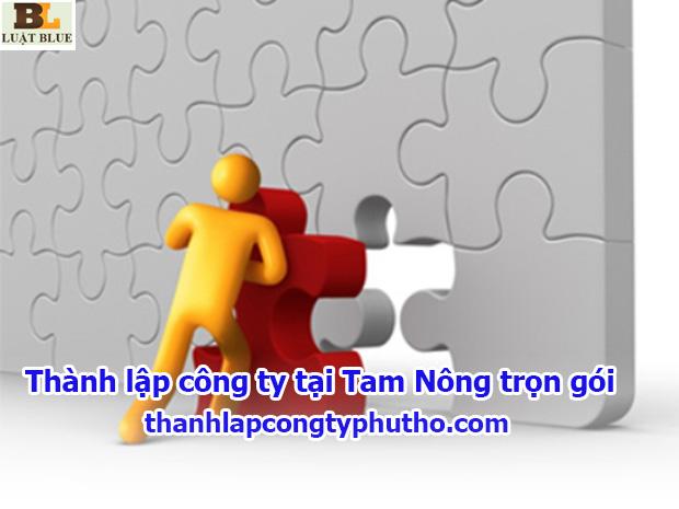 Thành lập công ty tại Tam Nông trọn gói