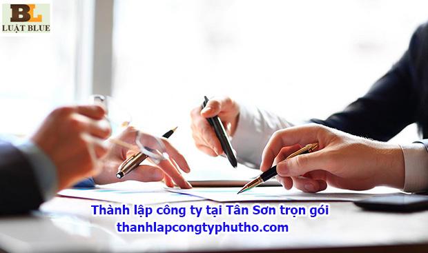 thành lập công ty tại Tân Sơn trọn gói